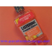 LISTERINE CITRICO 250 ML 178628 LISTERINE FRESCOR CITRICO - (250 ML )