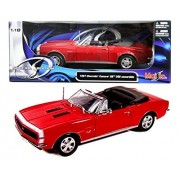 New 1:18 W/B Special Edition Red 1967 Chevrolet Camaro Rs/Ss 396 Diecast Model Car By Maisto