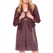 Cache Cache 6764001184, Impermeable para Mujer, Marron (Decadent Chocolate), 38