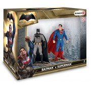 Schleich - 22529 - Figurine haute qualité - Scenery Pack Batman Vs Superman