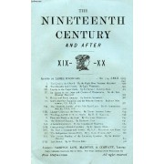 The Nineteenth Century And After Xix-Xx, N° 314, April 1903 (Summary:The Crisis In The Church. By The Right Hon. Viscount Halifax The Church S Last Chance. By Lady Wimborne Loyalty To The ...