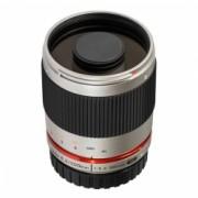 Samyang 300mm F6,3 reflex Olympus m4/3 silver - RS125006560