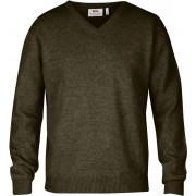 FjallRaven Shepparton Sweater - Dark Olive - Wollpullover M