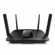 ROUTER, Linksys EA8500, Max-Stream, Wireless-AC2600, Dual-Band, MU-MIMO, Smart Wi-Fi, USB 3.0+USB 2.0+eSATA