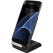 Qi Wireless Charger Dock & Stand (3-Coils) for Samsung Galaxy S7 Edge