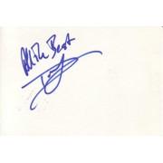 Donal Logue Autographed Index Card