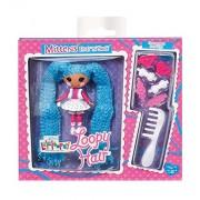 Lalaloopsy - Mini Loopy Hair Doll: Mittens Fluff N Stuff muñeca (Bandai 522164)