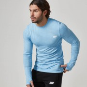 Myprotein Men's Seamless Long Sleeve T-Shirt - Blue, XL