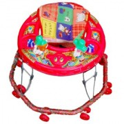 Brats N Angels Baby Walker-Red