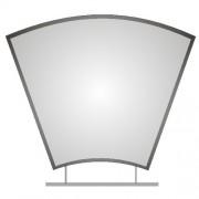 Zrcadlo ZT-Z0469 80x60cm s poličkou