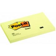 Post-It Lot De 3 Blocs 100 Notes Adhésives 127 X 76 Mm Jaune