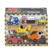 Melissa & Doug Construction Chunky Puzzle - 3726