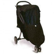 Protect A Bub Universal 4 Season Stroller Weather Shield - Single - Black