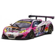 1/24 Scale Pacific Racing X Love Live Mc Laren Mp4 12 C Gt 3 With Mus Plastic Model Figure Collection Race Sports Super Car Rally Formula Motor Vehicle Toy Table Desk Decor Grand Tourer Touring Fujimi