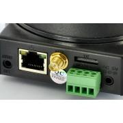 Caméra IP Plug and Play avec PTZ, H.264