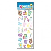 Babyshower stickervellen
