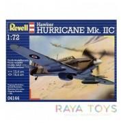 Revell военен самолет Hawker Hurricane Mk IIC - модел за сглобяване