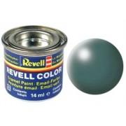 Revell 32364 RAL 6001 - Bote de pintura (14 ml), color turquesa grisáceo satinado mate