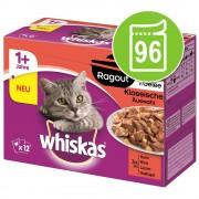 48 x 85 g Whiskas Ragout szárnyasválaszték aszpikban nedves macskatáp