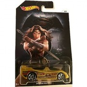 Batman Vs Superman Hot Wheels - Power Pistons Wonder Woman - DC Comics Exclusive Collectible #6