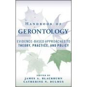 Handbook of Gerontology by James A. Blackburn