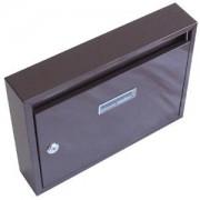 G21 postaláda panelházakba 320x240x60mm barna, lyukak nélkül