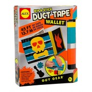 Alex Toys Craft Guy Gear Rip and Stick Duct Tape Wallet Kit, Multi Color
