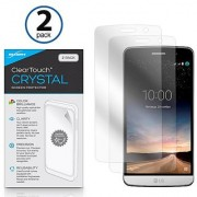 LG Ray Screen Protector BoxWave [ClearTouch Crystal (2-Pack)] HD Film Skin - Shields From Scratches for LG Ray
