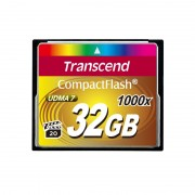 CF Card, 32GB, Transcend 1000X (TS32GCF1000)