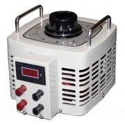 Autotransformator monofazic, 220V - 0...250V - 5000VA/20A, 5KW, voltmetru digital