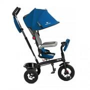 Niño Fuerza Swift 6 in1 Triciclo para niños con accesorios en 2 colores (Azul)