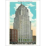 Cleveland, Ohio Oh Bell Telephone Co Building Exterior (Playing Card Deck 52 Card Poker Size With Jokers)