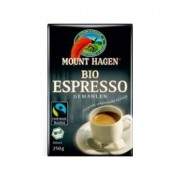 Mount Hagen bio espresso őrölt kávé - 250g