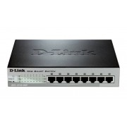 D-Link DES-1210-08P - DES 1210 Switch Managed 8 x 10/100 desktop PoE