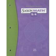 Saxon Math 5/4 Facts Practice Workbook by Stephen Hake
