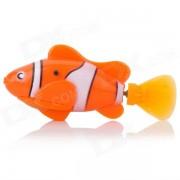 ROBO FISH Electric Pet Fish Toy - Orange + White (2 x L1154)