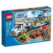City Vehicles LEGO 382 PCS Helicopter Transporter Brick Box Building Toys by LEGO