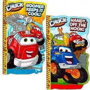 Tonka Chuck Board Book Set For Kids Toddlers (Set of 2 Tonka Board Books)
