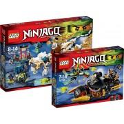 LEGO Ninjago Voordeelbundel - De Draak van Meester Wu 70734 + Blaster-motor 70733