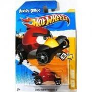 Angry Birds Red Bird Hot Wheels (Born in El Segundo Ca.usa) Red Bird 1:64 Scale Collectible Die Cast Car