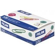 Clips Metálicos Plastificados Milán de 33 mm 100 Unidades