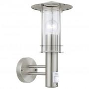 EGLO Wandlamp met sensor voor buiten Lisio 60 W zilver 30185