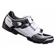 Pack Zapatillas Shimano M089 Blancas + Pedales Shimano XT