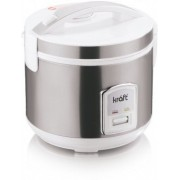 Kraft KRC Electric Rice Cooker with Steaming Feature(1.2 L, IVORY, Silver)
