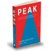 Peak. Secretele performantei de top si noua stiinta a expertizei - Anders Ericsson Robert Pool
