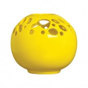Vaso II Organic Amarelo Brilho