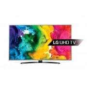 "LG 55UH668V LED TV 55"" Ultra HD, WebOS 3.0 SMART, T2, Metal/Silver, Crescent stand"