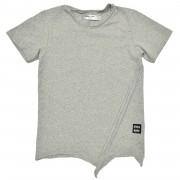 Tricou Edgy - melange grey, 2-4 ani