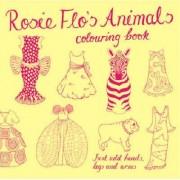 Rosie Flo's Animals Colouring Book by Roz Streeten