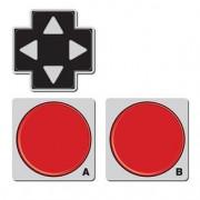 Porta Copos Joystick Geek - 3 peças